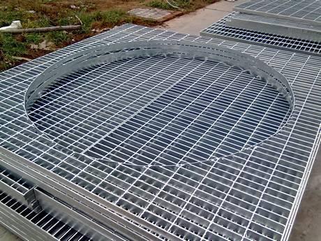 Irregular Steel Grating